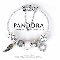 Beauty Ticks Pandora 925 Sterling Silver Inspirational Bracelet