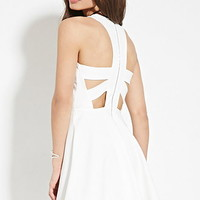 Cutout-Back Dress