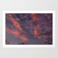 Last Days Of Summer. Clouds at Sunset by