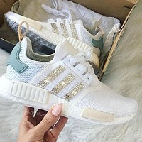 Adidas NMD individuality Sequins Fashion Trending Women Leisure Running Sports Shoes-1