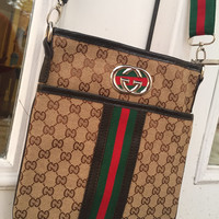 Customized Gucci Messanger bag