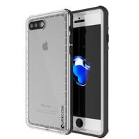 iPhone 7+ Plus Waterproof Case, PUNKcase CRYSTAL White W/ Attached Screen Protector    Warranty