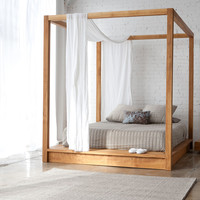 PCHseries Canopy Bed  Queen