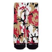 Function - San Francisco Football Team Camo Fashion Socks