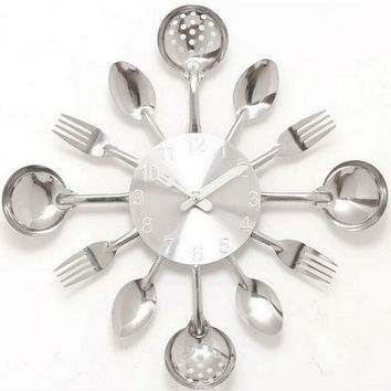 Shop Spoon And Fork Kitchen Decorations On Wanelo