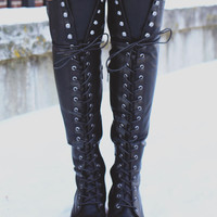 Chloe's Rebel Boot - Black