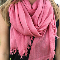 Super Soft Scarf in Berry