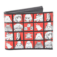 Studio Ghibli Spirited Away Boxes Bi-Fold Wallet
