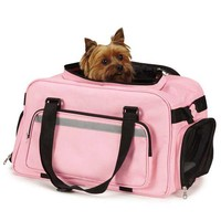 On-The-Go Carry On Pet Carrier - Pink at BaxterBoo