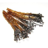 Copper Head Pins Eggplant Color 26 Gauge 2 Inches Long 100 Pack