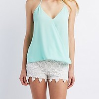 Wrapped Halter Top