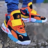 Nike Air Max Speed Turf Men Women Leisure Sport Running Shoes Sneakers Yellow&Orange&Blue