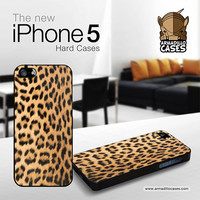 iPhone 5 Case -  Leopard iPhone Case by Gadget Glamour