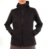 ExOfficio Women's Rain Logic Jacket,Black,Large