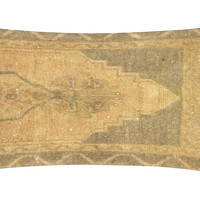 Neutral Oushak Fragment Pillow