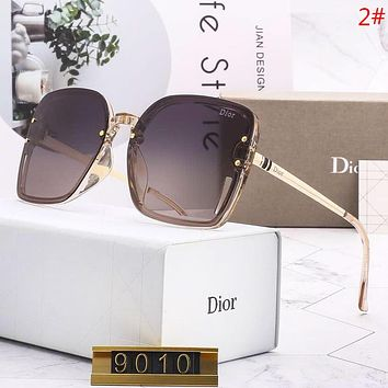 DIOR Fashion New Polarized Sunscreen Travel Glasses Eyeglasses Women