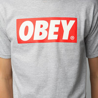 Urban Outfitters - OBEY Bar Logo Tee