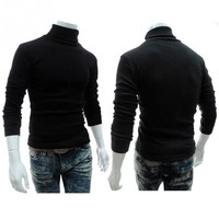 The Iconic Turtle Neck Sweater In The style of....