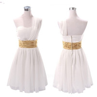 Women Hot Women's Sexy Party Evening Wedding Bridesmaid Prom Ball Short Dress Formal FT = 1956799428