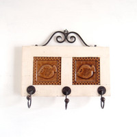 Hook Coat Hanger /Cottage Chic / Shabby Chic / Art decor / French Country