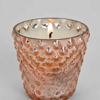 Small Flare Hobnail Mercury Glass