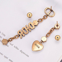 DIOR Fashion Pendant Earrings Accessories Jewelry