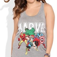 Plus Size Tank Top with Marvels Screen