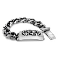 Stylish Great Deal Awesome Gift Shiny Hot Sale New Arrival Vintage Cross Rack Men Titanium Accessory Bracelet [6526727555]
