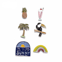 Tropical Summer Pins Set