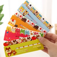 Kawaii Cute Post-It Bookmark Marker Memo pad Flags Index Tab sticky notes Label Paper Stickers Notepad stationery