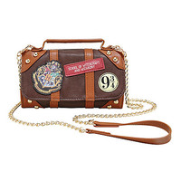 Harry Potter Hogwarts Trunk Crossbody Wallet