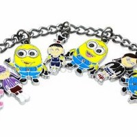 Despicable Me Bracelet - Minions Girls Unicorn w/free Gift Box