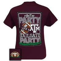SALE Texas A&M Aggies Party Tailgate Preppy Football T-Shirt