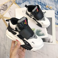 Child Nike Sportswear Air Max Speed Turf Girls Boys shoes Children boots Foamposite Pro Children's Sports Spray Basketball Shoes