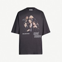 BALENCIAGA - Speedhunters-print oversized cotton-jersey T-shirt | Selfridges.com