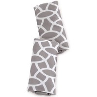 On the Goldbug Car Seat Strap Cover, Grey Reversible - Walmart.com