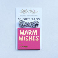 Copper Foil Holiday Gift Tags