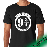 Platform 9 3 4  T-shirt High Quality Design in Men's and Women's
