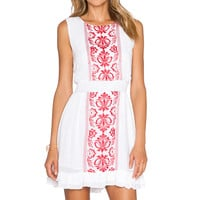 Tularosa Gemma Dress in White