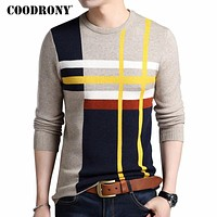 Cashmere Sweater Men Winter Thick Warm Wool Sweaters Casual O-Neck Pullover Men Cotton Pull