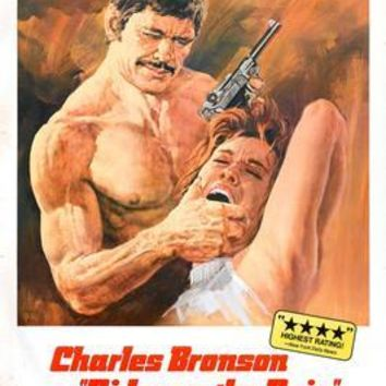 Rider On The Rain Charles Bronson Movie Poster 11 inch x 17 inch poster