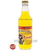 D&G Sof Drink Pineapple Carbonated Beverage 12oz Glass Bottle