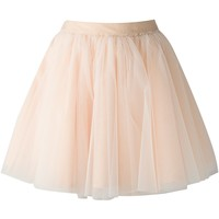 Moschino Flared Tulle Skirt