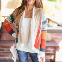 Fall Colors Cardigan