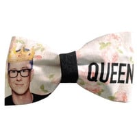 Tyler Oakley Inspired Queen Hair Bow or Bow Tie YouTube Fabric Bow