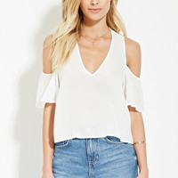 Contemporary Open-Shoulder Top | Forever 21 - 2000185399