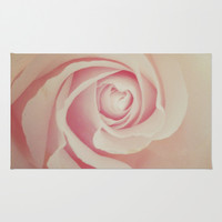 rose Area & Throw Rug by Marianna Tankelevich | Society6