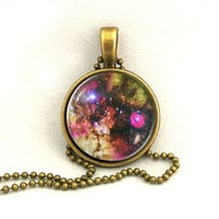 10% SALE Necklace Galaxy Jewelry Universe Space Pendant Necklaces,Constellation,Gift For Her