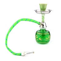 High Quality Mini Hookah Pipe Shisha Smoking Pipe Popular Style Pattern Glass Item Durable Pipe Accessories