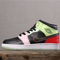 "Air Jordan 1 Mid ""Glow in the Dark"" - Best Deal Online"